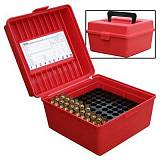 Кейс для 100 нарезных патронов MTM Rifle Ammo Boxes - Deluxe R-100 Series. Арт: R-100-MAG-30