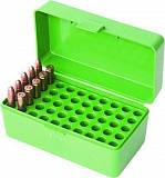 Кейс для 50 нарезных патронов MTM Rifle Ammo Boxes - Case-Gard R-50 Series.  Арт: RS-S-50-10