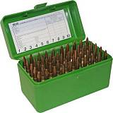 Кейс для 50 нарезных патронов MTM Rifle Ammo Boxes - Case-Gard R-50 Series.  Арт: RM-50-10